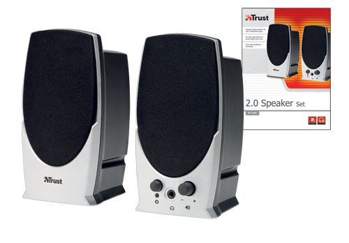 TRUST UK SP-2200 2.0 SPEAKER SET