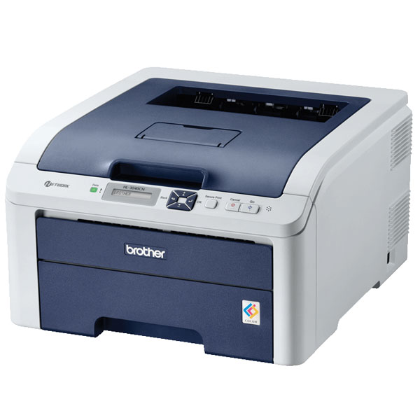 Brother HL-3040CN LED A4 Laser Network Printer
