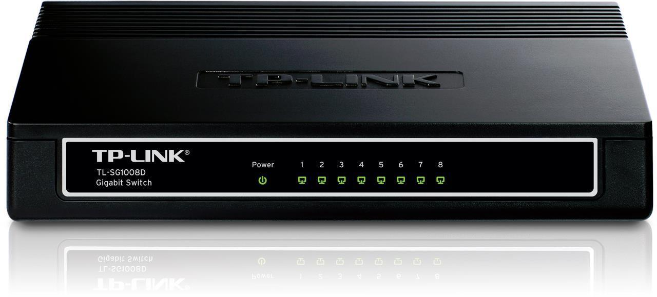 TP-Link 8 Port 10/100/1000 Gigabit Network Switch