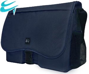 Luxury Blue Messenger Shoulder Carry Case for 15.6 Widescreen Notebooks HALF PRICE was £24.99