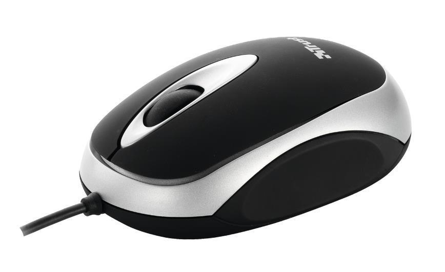 Trust MI-2520p Mini USB Mouse - Optical - Wired