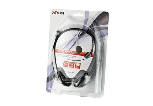 Trust HS-2550 Wired Headset - Over-the-head - Semi-open