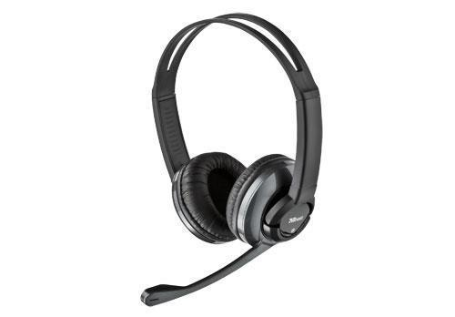 Trust HS-2800 Wired Stereo Headset with Microphone