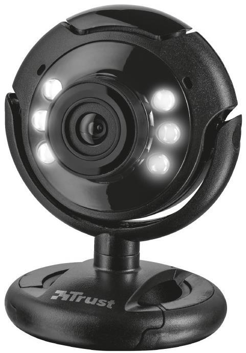 Trust 16428 Webcam - 1.3 Megapixel - Black - USB 2.0