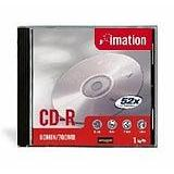 Imation 18645 CD Recordable Media - CD-R - 52x - 700 MB - 10 Pack Slim Jewel Case