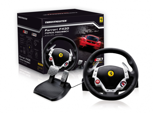 Thrustmaster Ferrari F430 Gaming Steering Wheel
