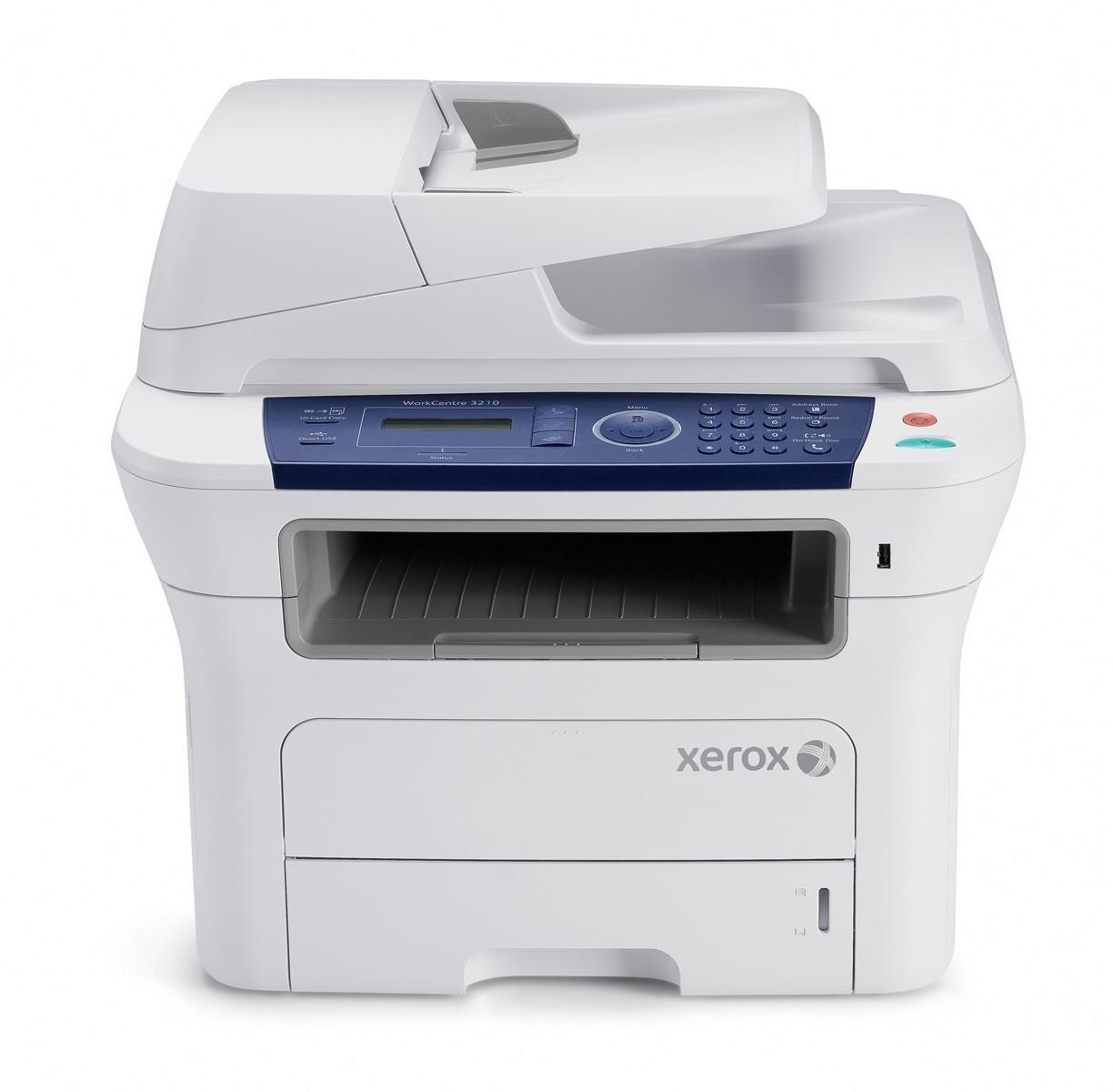 Xerox WorkCentre 3210VN Mono Laser A4 Printer MultiFunction Scan Copy Fax