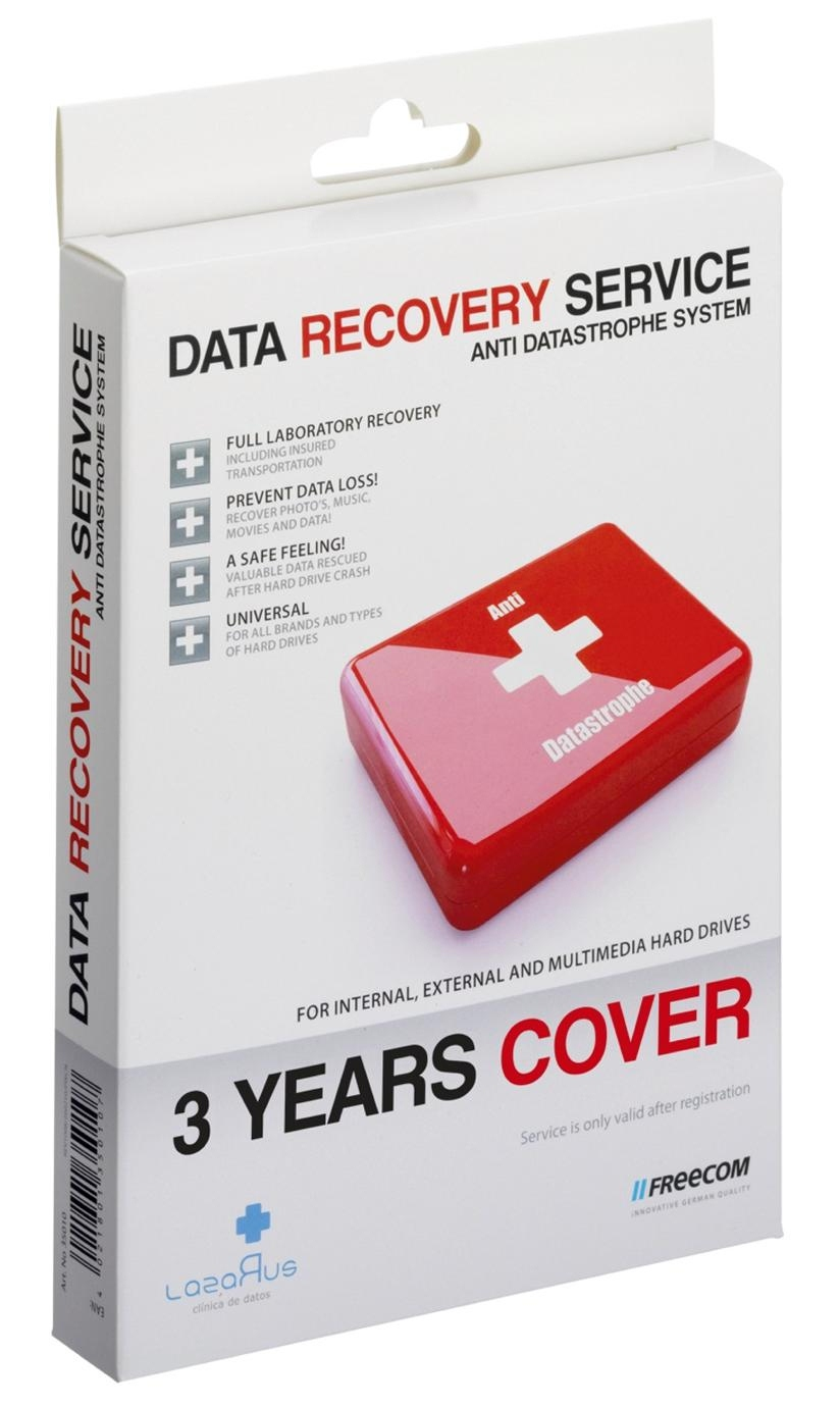 Freecom 3 Year Data Recovery Service