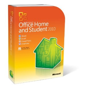 Microsoft Office 2010 Home and Student. 3 Users (PC DVD) Word Excel PowerPoint OneNote