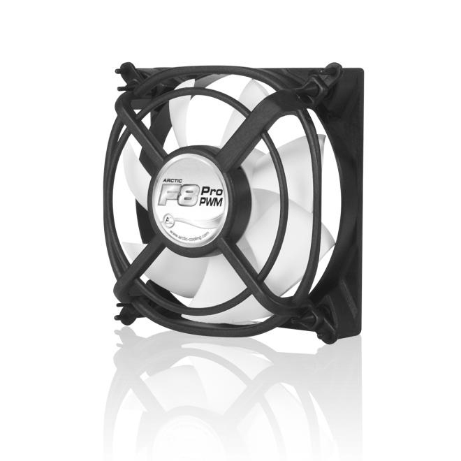 Arctic Cooling F8 Pro 8cm 80mm PWM Case system Fan