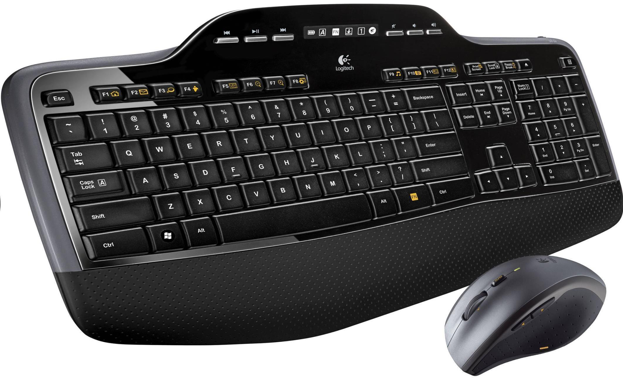 Logitech Wireless Desktop MK710 Keyboard & Mouse
