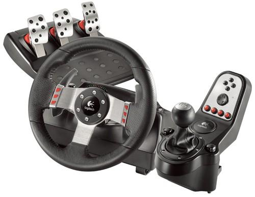 Logitech G27 Racing Wheel with Pedals & Gear Shift & Paddle Shift PC / PS2 / PS3