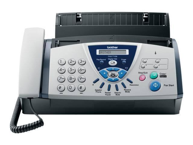Brother FAX-T106 A4 Fax Facsimile/Copier Machine