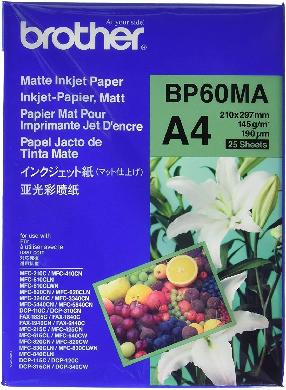 Brother BP60MA Inkjet Paper