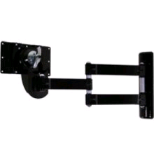 B-Tech Double Vesa Lcd Ball Joint TV Mount Bracket in Black