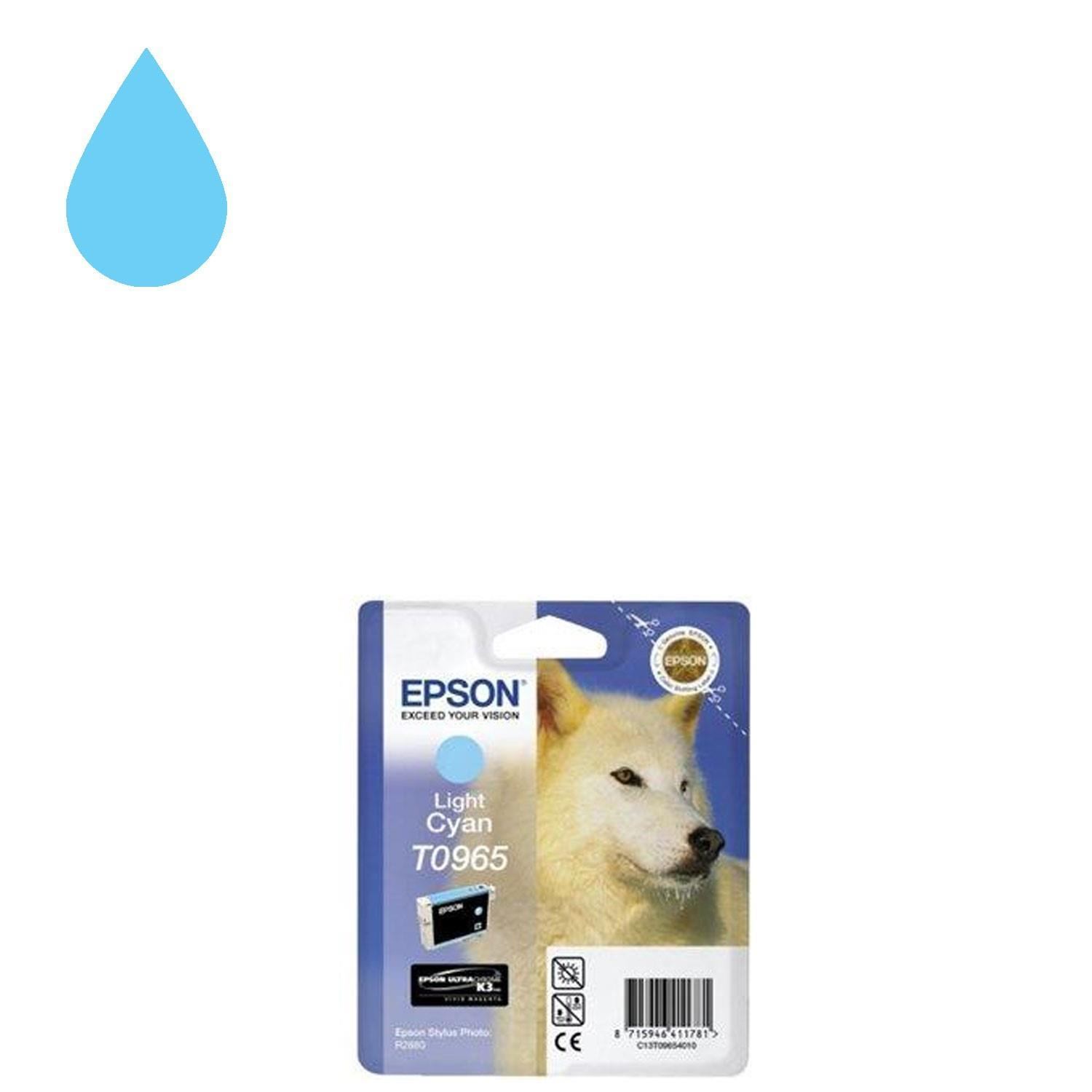 Epson UltraChrome K3 T0965 Ink Cartridge - Light Cyan