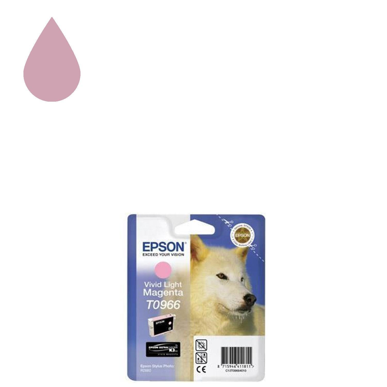 Epson UltraChrome T0966 Ink Cartridge - Light Magenta