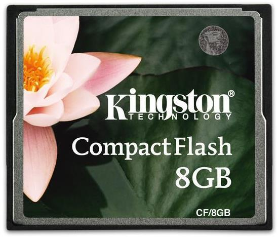 Kingston 8GB CompactFlash Memory Card