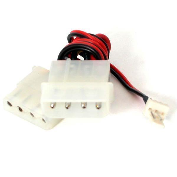 StarTech.com 6in Fan Adapter - TX3 to 2x LP4 Power Y Splitter Cable