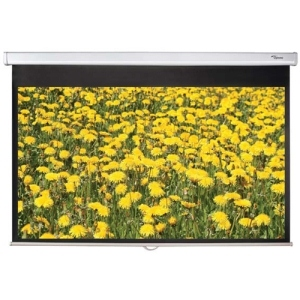 "Optoma DS-3072PMG+ 72"" Manual Projection Screen - 183 cm"