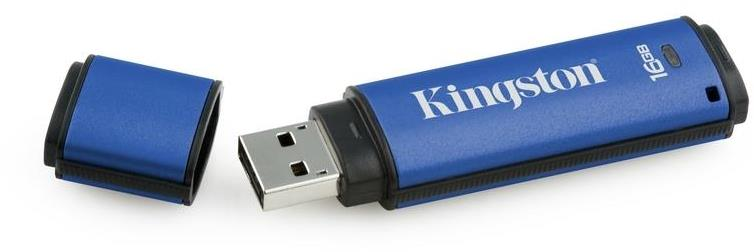 Kingston DataTraveler Vault DTVP/16GB Flash Drive