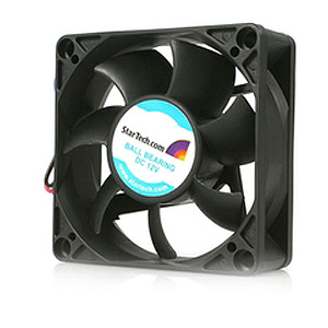 StarTech.com 70x25mm Replacement Ball Bearing PC Case Fan w/ TX3 Connector