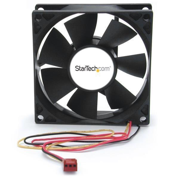 StarTech.com FANBOX2 Cooling Fan (80 mm - 3000 rpm Dual Ball Bearing)