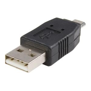 StarTech.com USB A to Micro USB B Cable Adapter - Male to Male
