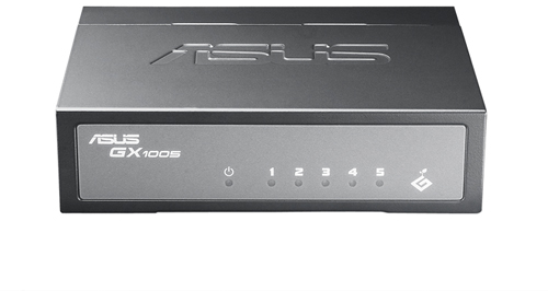 ASUS GX1005 5 Port Ethernet Unmanaged Switch