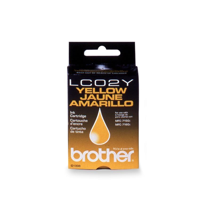 Brother LC02Y Ink Cartridge - Yellow