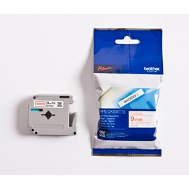 Brother MK222BZ Label Tape - 9 mm Width x 8 m Length