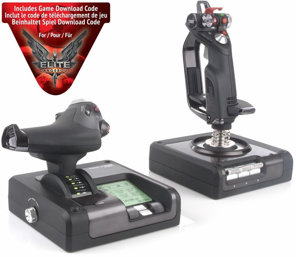 Saitek X52 Pro Flight Control System (joystick/Throttle) PS34