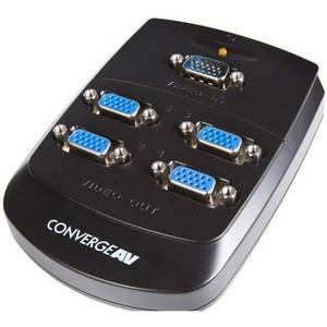 StarTech.com 4 Port Wall Mount VGA Video Splitter