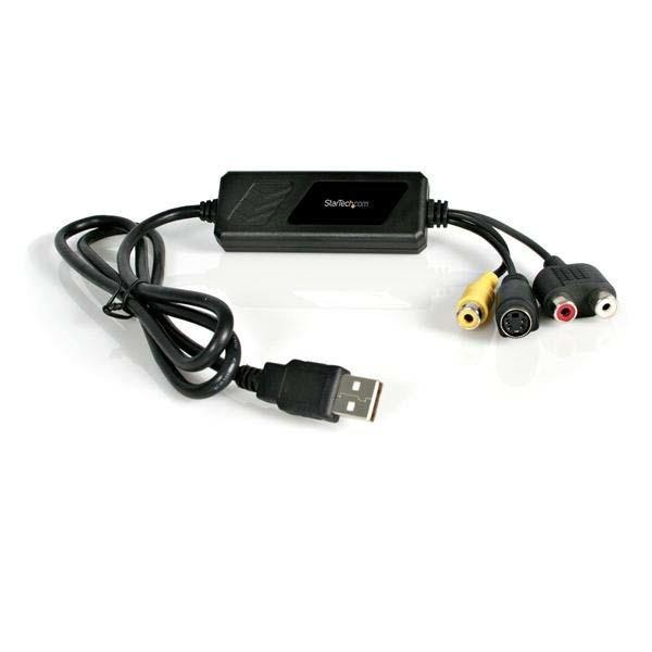 StarTech.com USB S-Video and Composite Video Capture Device Cable with Audio