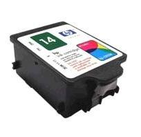 Genuine HP14 Colour Ink Cartridge