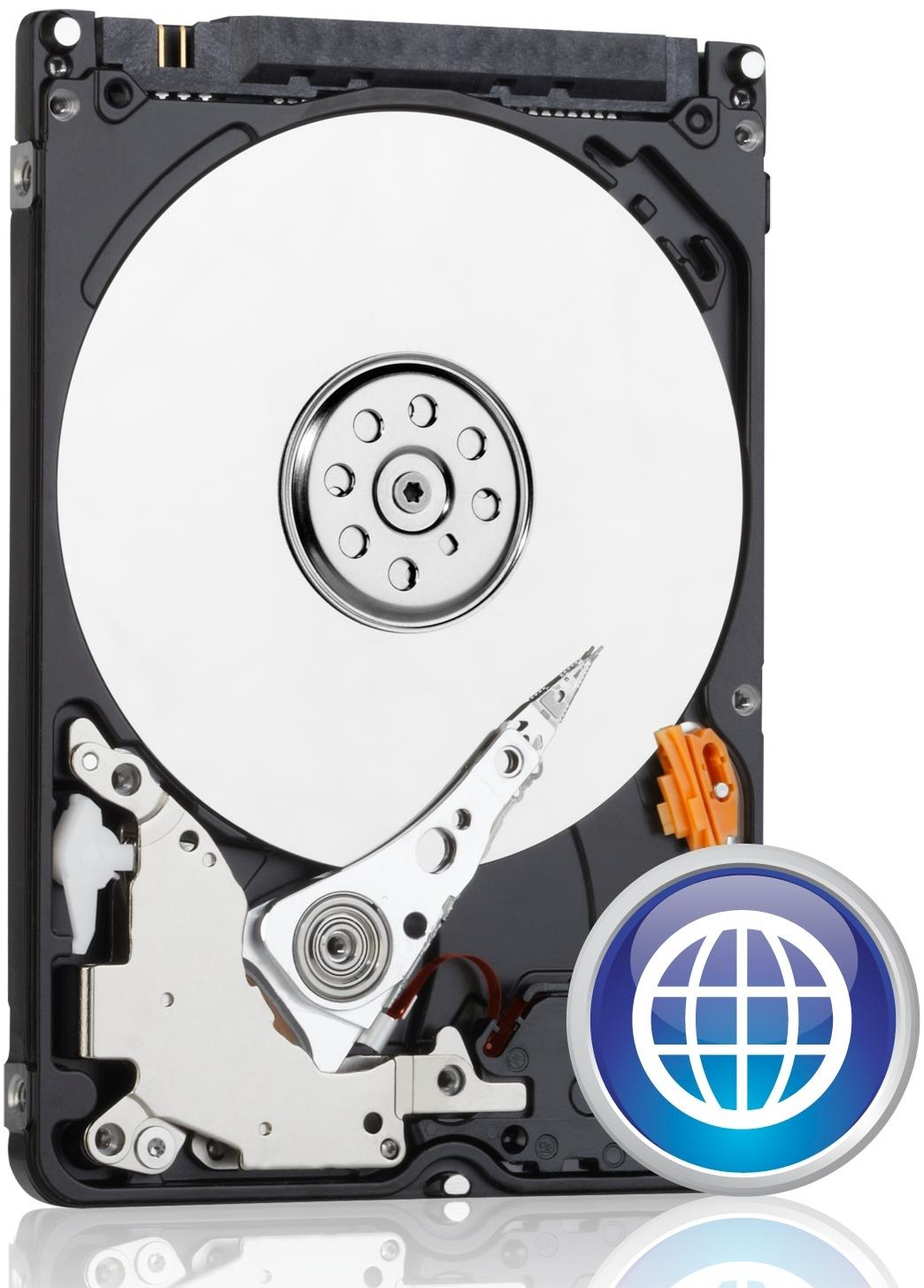 "Western Digital Scorpio Blue 500GB 2.5""/9.5mm Laptop SATA Hard Drive"