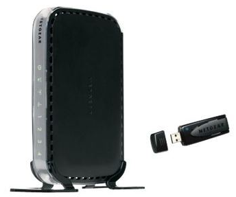 NETGEAR RangeMax Wireless N 150 DSL/ Cable Router Bundle