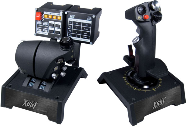 Saitek Pro Flight X-65F Combat Control System (Joystick/Throttle)