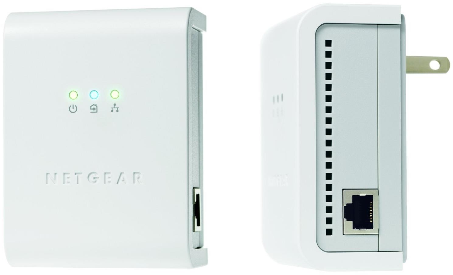Netgear XETB1001 85Mbps Powerline Network Adapter Kit