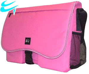 Luxury Pink Messenger Shoulder Carry Case for 15.6 Widescreen Notebooks HALF PRICE Was £24.99