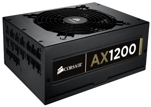 Corsair Professional Series Gold Fully-Modular AX1200 1200W Power Supply Unit 80 PLUS Gold Certified