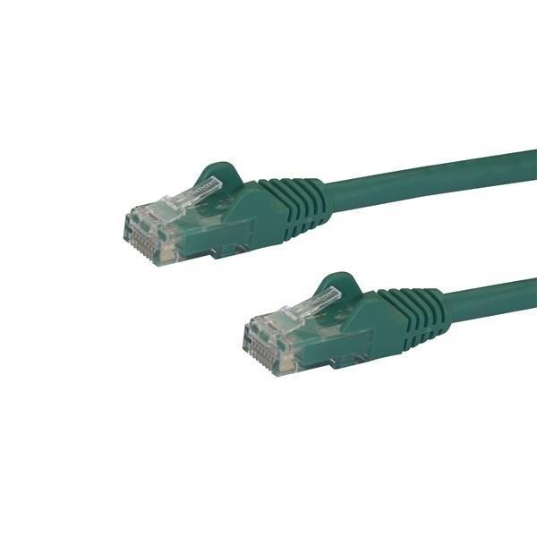 StarTech.com 3 ft Green Snagless Cat6 UTP Patch Cable
