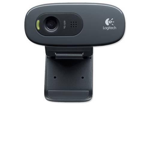 Logitech C270 USB 2.0 Webcam with Microphone
