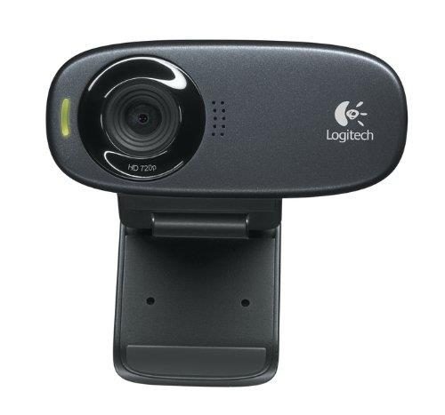 Logitech C310 Webcam (Black)