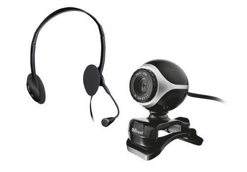 Trust Exis Webcam and Headset Pack