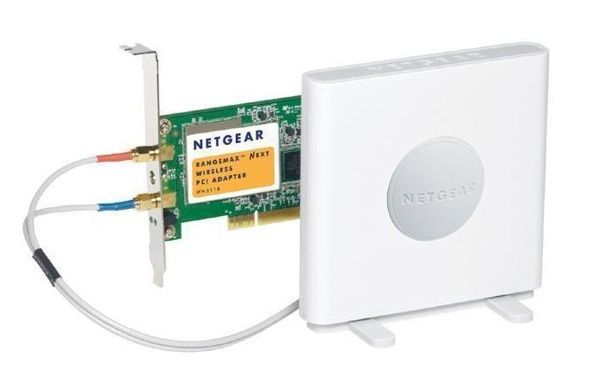 Netgear RangeMax WN311B PCI Wireless N Card