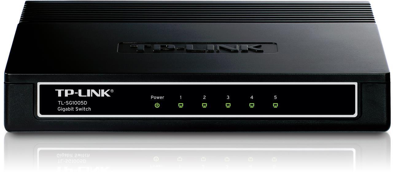TP-LINK TL-SG1005D Gigabit 5 Port Ethernet Switch